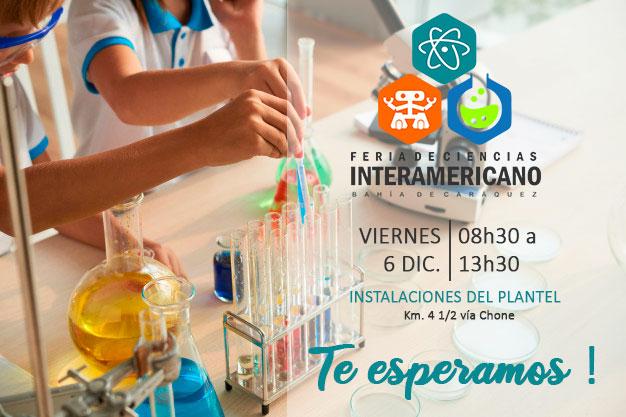 Invitacion a Feria de Ciencias UEI 2019